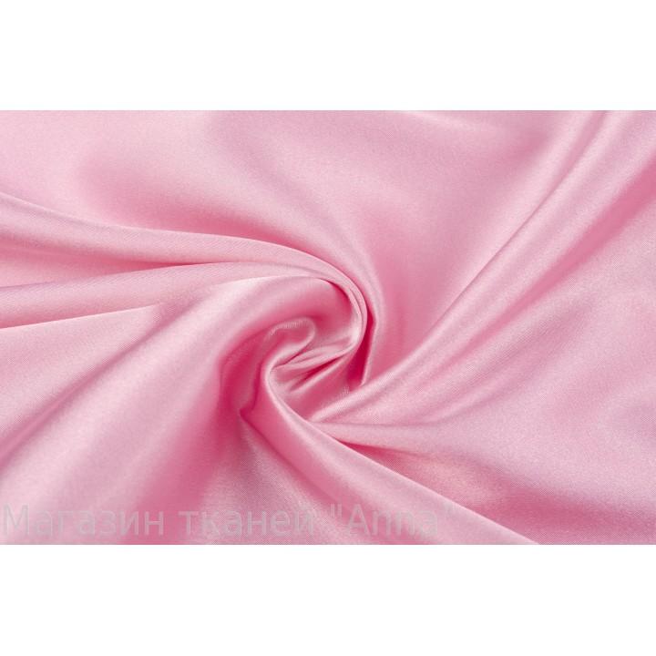 Мягкий атлас светлого розового цвета