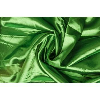 Атлас с блеском ярко-зеленого цвета