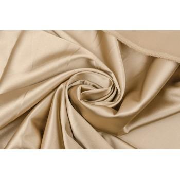 Атласная ткань песочного оттенка