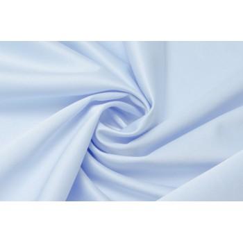 Нежно-голубой атлас с эластаном