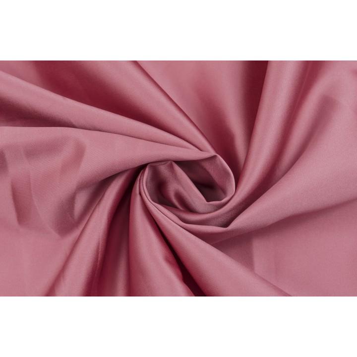 Атлас теплого розового оттенка