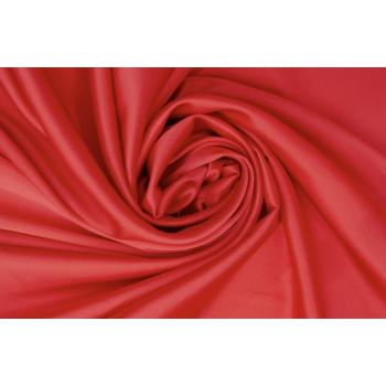 Классический красный - шелковый атлас стрейч