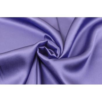 Атласный шелк сложного сине-сиреневого оттенка