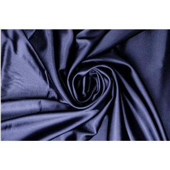 Шелковый атлас цвета темная ночь