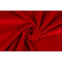 Темно-красный бархат из натурального хлопка