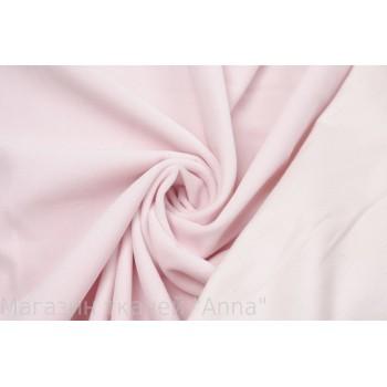 Бледно розовый хлопковый бархат