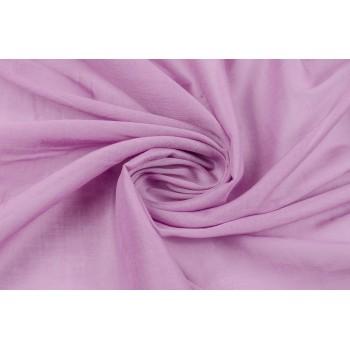 Батист однотонный розовый