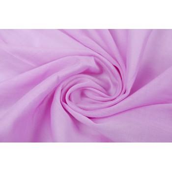 Батист однотонный светло-розовый