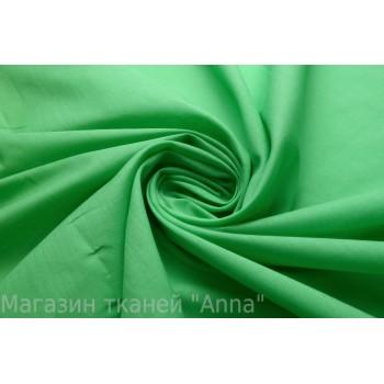 Легкий хлопок светло-зеленого цвета