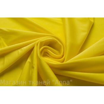 Ярко-желтый трикотаж с блеском