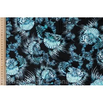Бирюзово-голубой цветной бифлекс