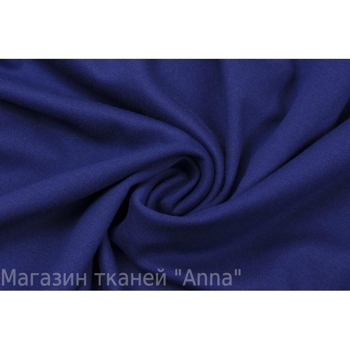 Ярко-синий трикотаж джерси
