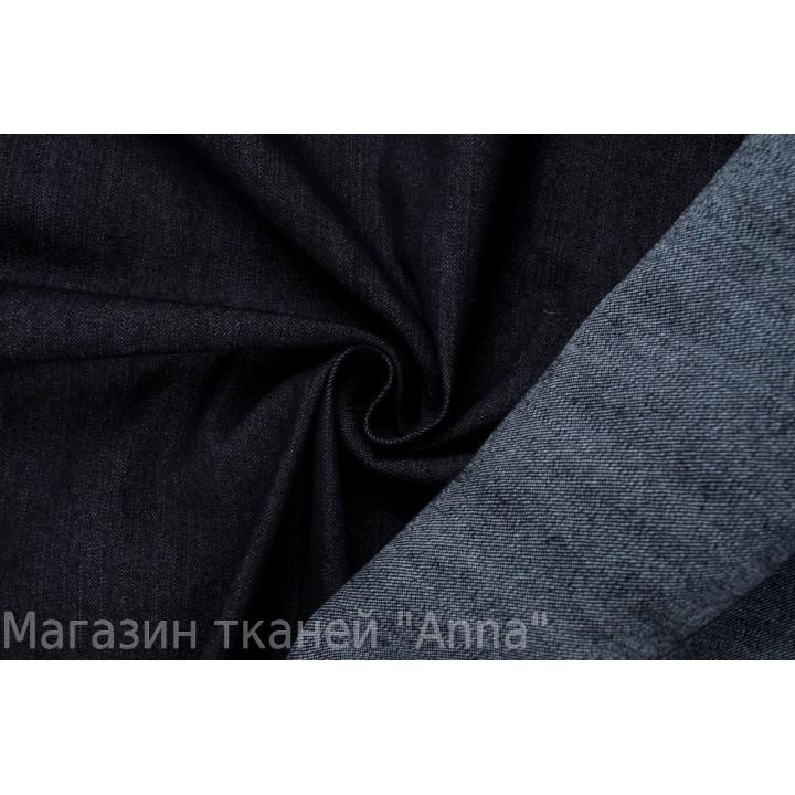 Черная джинса-стрейч