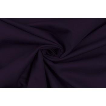 Мягкий трикотаж джерси темно-фиолетового цвета