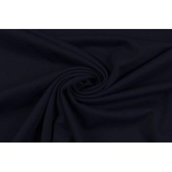 Матовый плотный Джерси темно-синего цвета