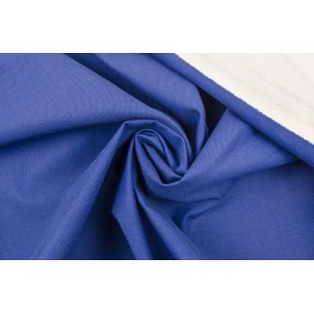 Плотный светло-синий коттон в диагональный рубчик