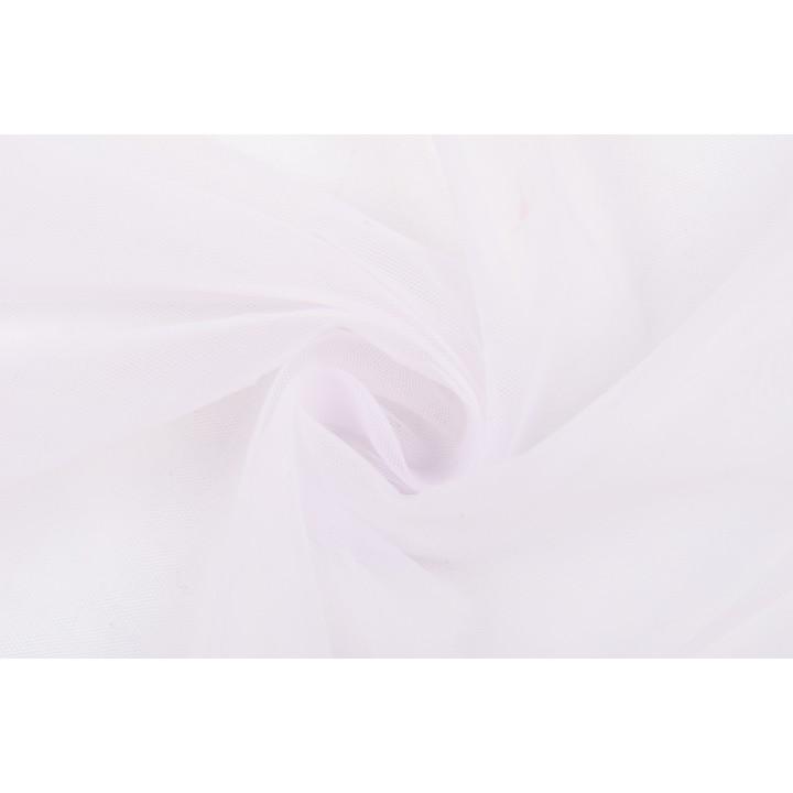 Бледно-сиреневый мягкий фатин