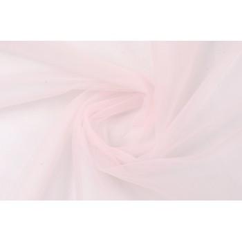 Светло-розовый фатин, мягкая ткань