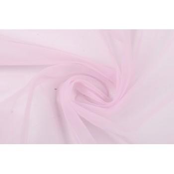 Розовый фатин для одежды, мягкий, с мелкой ячейкой