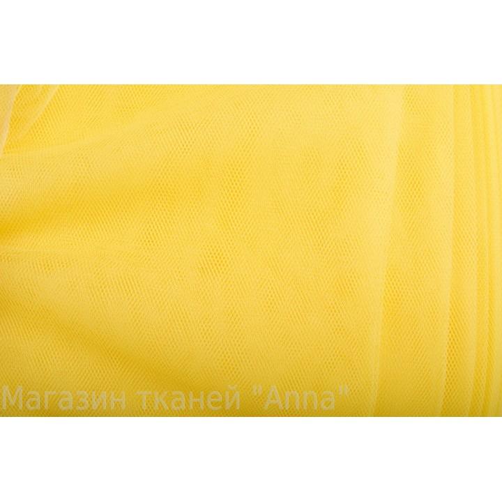 Фатин солнечно желтый средней жесткости