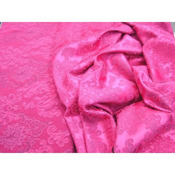 """Ярко розовый жаккард """"Кружевница""""."""