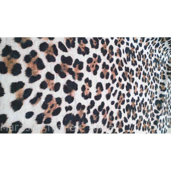 Жаккард под леопарда