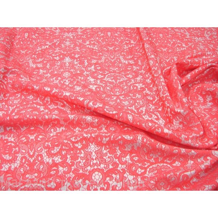 жаккард розового цвета, кружевное полотно жаккард