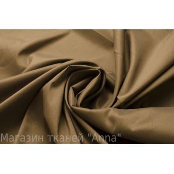 Хлопок для сорочки - теплый коричневый оттенок