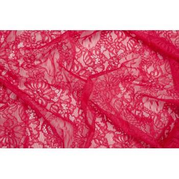 Ярко-розовый гипюр