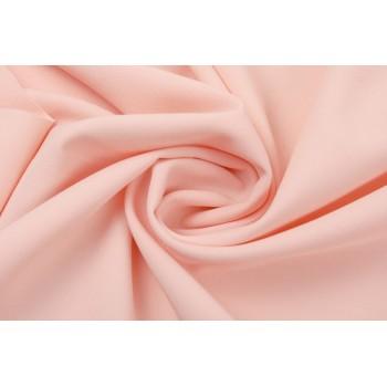 Светло-розовый габардин для платья