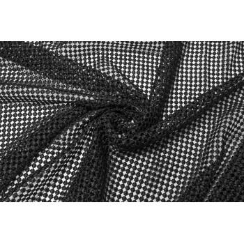 Кружевное полотно черного цвета