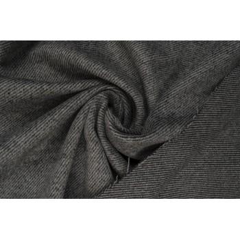 Серый твид с классической диагональной полоской