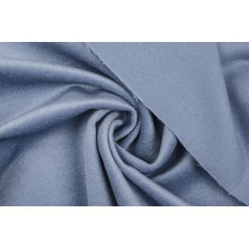 Стальной голубой оттенок пальтового кашемира