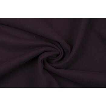 Темно-сливовая пальтовая ткань