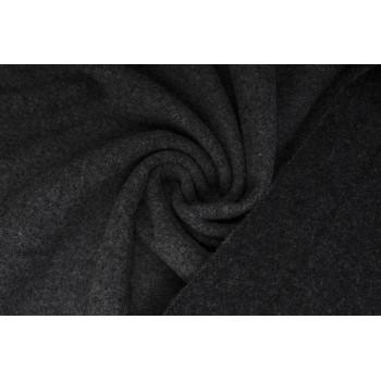 Темно-серый драп для теплого пальто