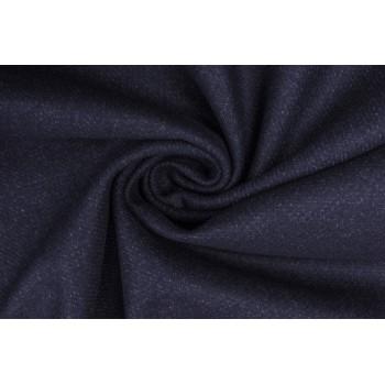 Темно-синяя шерсть с вкраплениями светлых нитей