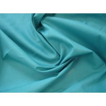 Хлопковая ткань - цвет морской волны
