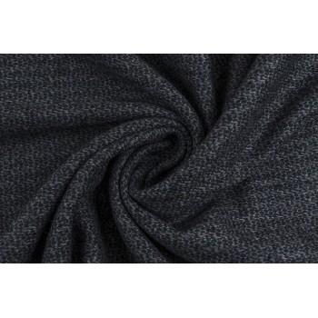 Мягкая пальтовая ткань в темно-синих тонах