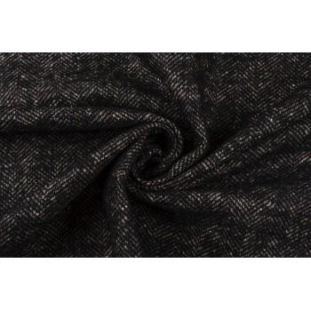 Мягкая легкая шерсть с мохером - классическая елочка
