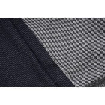 Шерсть для легкого пальто или теплого костюма с текстурой под джинс