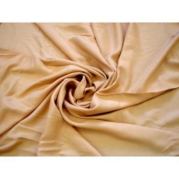 Бежевый мягкий штапель для платья или рубашки