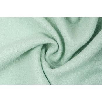 Тонкая шерсть с зернистой поверхностью мятного цвета