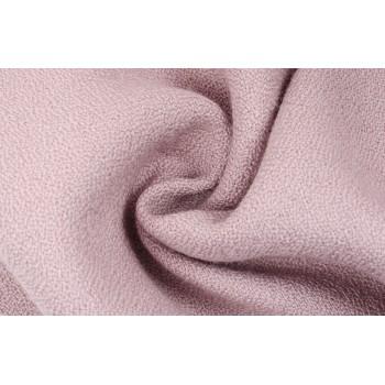Тонкая шерсть с зернистой поверхностью в светло-розовом цвете