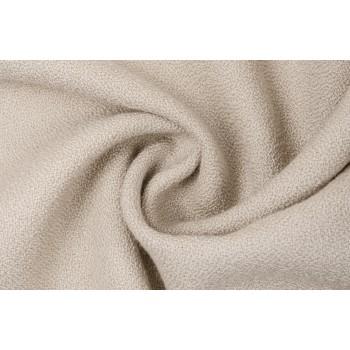 Шерстяная ткань для пальто, светло-бежевого цвета