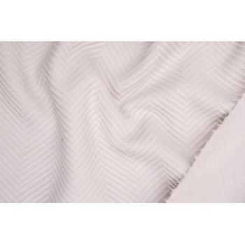 Светло-серая ткань для пальто - елочка в светло-сером цвете