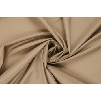 Красивая плащевая ткань песочного цвета