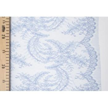 Кружево Dentelles Mary в нежно-голубом оттенке