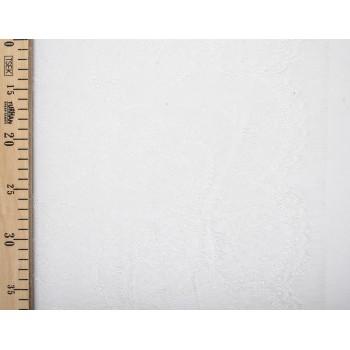 Белое кружево Solstiss с плотной вышивкой
