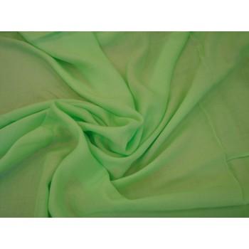 Штапель салатового цвета для блузки или рубашки