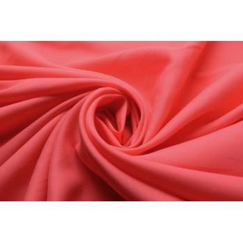 Мягкий коралловый штапель для платья или блузки